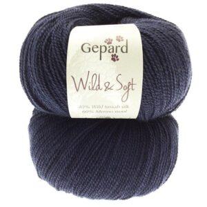 Gepard garn wild soft silke uld