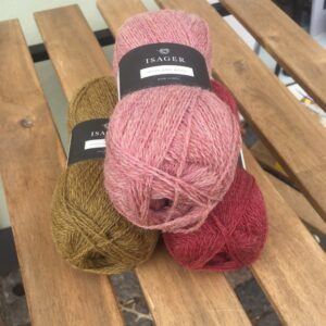 Highland wool Isager