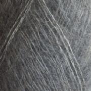Isager silk mohair farve 3S grå