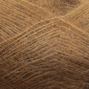 Isager Silk mohair farve 63 brunt sukker